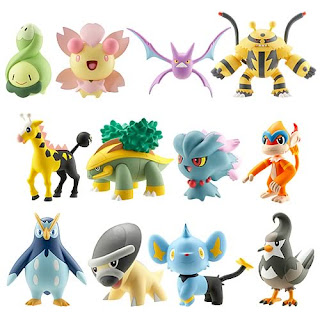 Pokemon Diamond and Pearl Action Figures - Wave 4