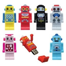 USB Toy Robot 2GB Memory Stick