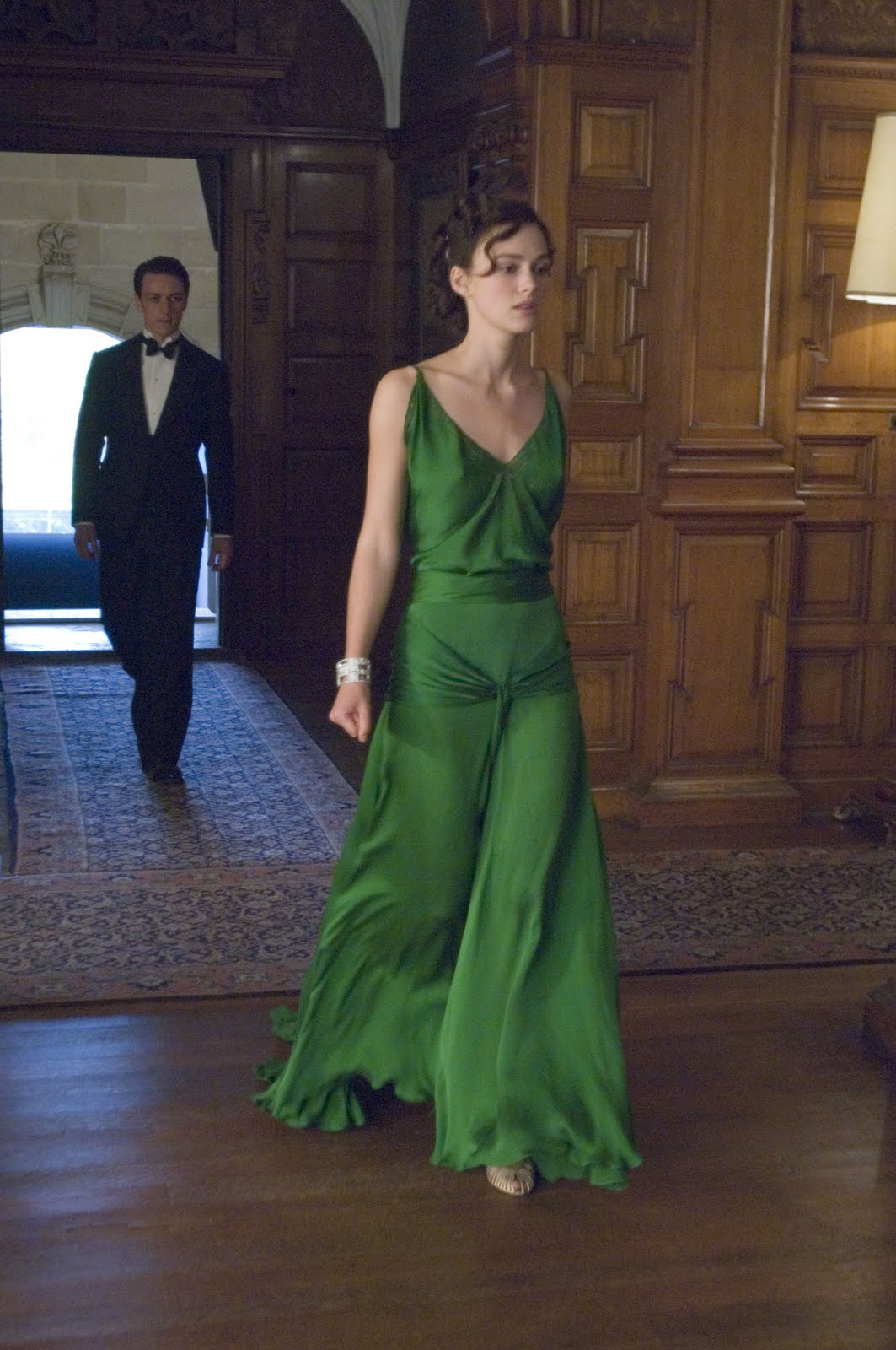 "The Glam Guide: Keira Knightley and ""Atonement"" Green Dress"