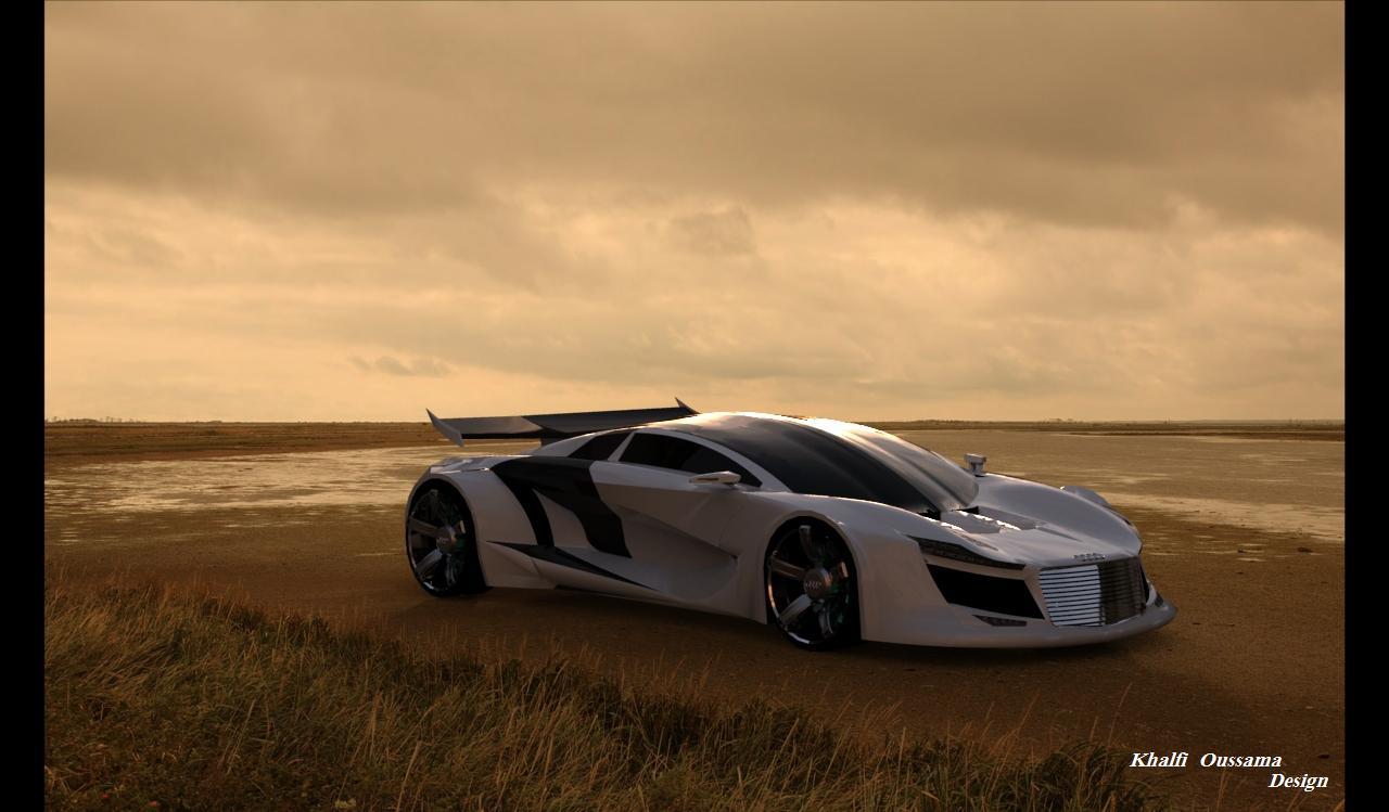 Khalfi Oussama Design My Audi R10 Concept