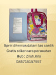 Gratis Stiker, dan tas cantik