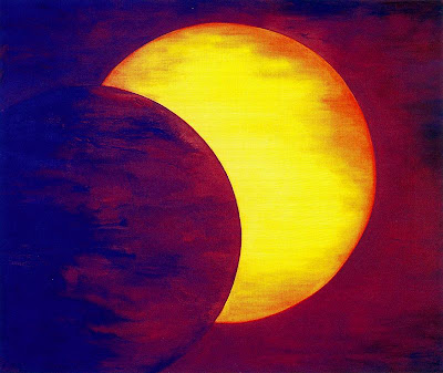 Moon paintings 12