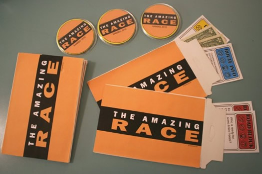 Amazing race ideas for work butik work