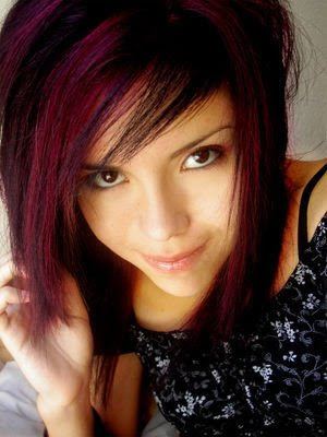 Dye your hair with different color, try a new look!