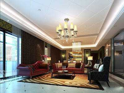 Chinese Living Room Design 2