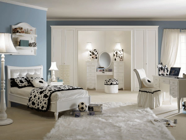 girls bedrooms blue. Cool Beautiful Girls Bedroom