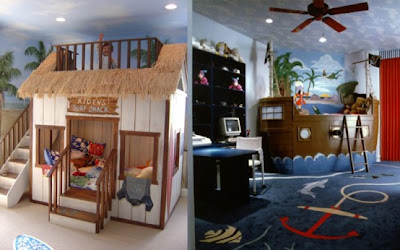 Cool Kids Bedroom Theme Decoration Ideas 13