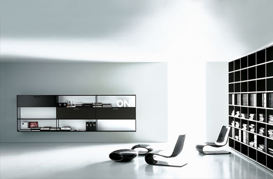 black and white home office furniture design home office