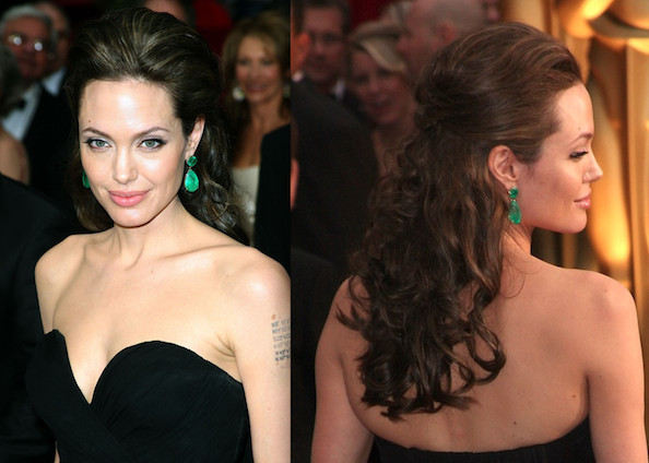 prom hairstyles half up half down for long hair. prom hairstyles half up half