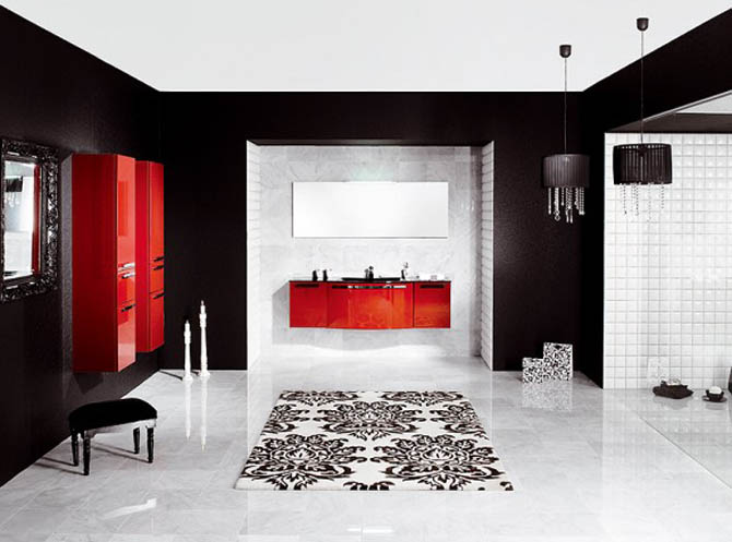 Home design modern bathroom design 01 for Ultra modern bathroom designs
