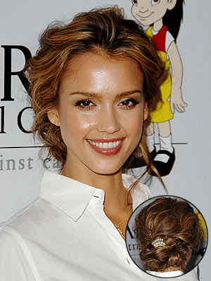 short curly hairstyles for prom