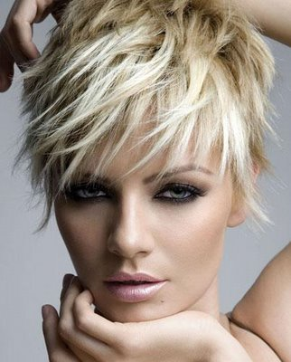 hairstyles for prom 2011 for short hair. funky short hair styles 2011