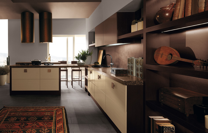Modern style kitchens italian design from scavolini for Modern italian kitchen designs