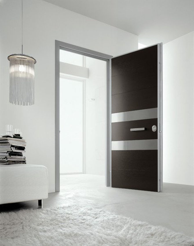 Interior bathroom designs modern contemporary doors home for Contemporary door designs