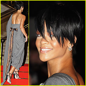 label head jay z rihanna looking very smart in super short hairstyles