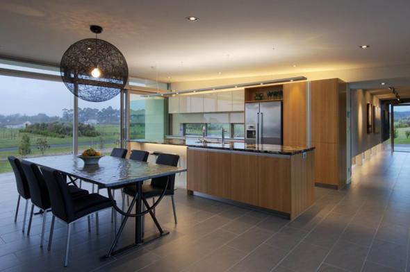 Interior Design Modern Glass House Interior Designs