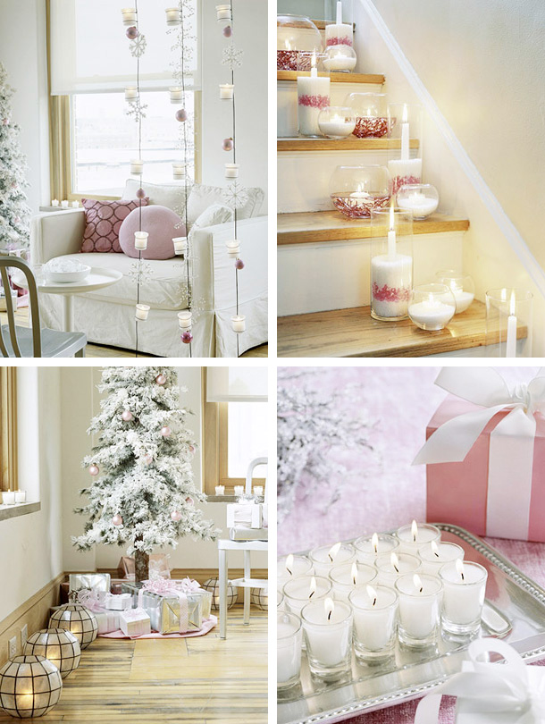 beautiful christmas candles decoration ideas interior