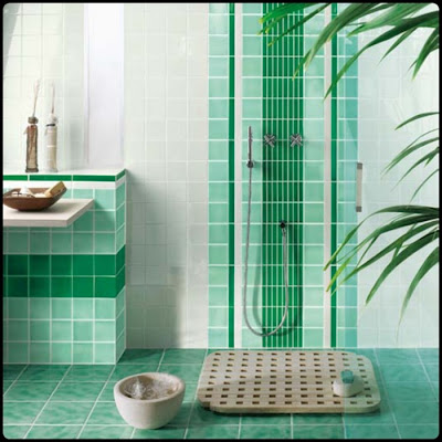Charming Bathroom Tile Design Ideas