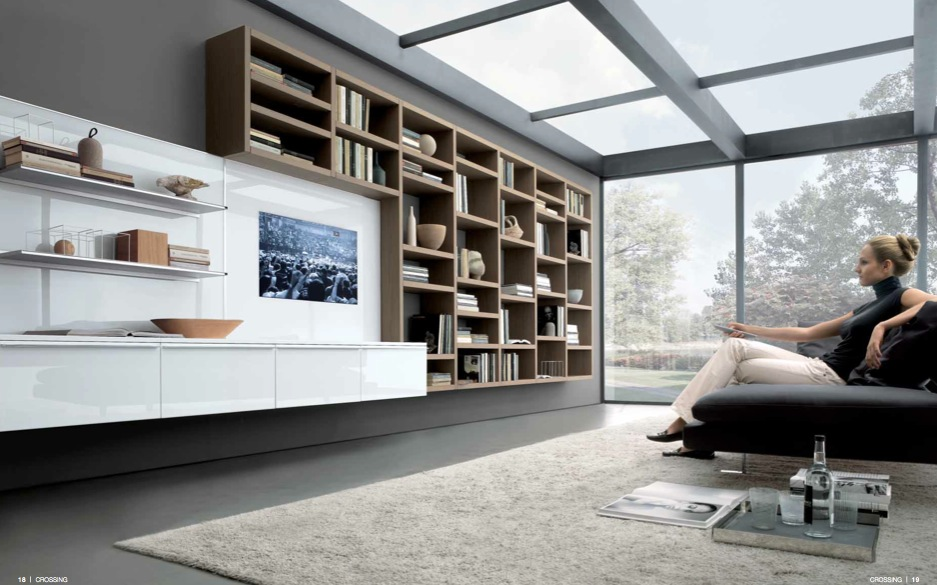 Modern Minimalist Living Room Design From Misuraemme