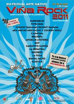 Fechas, entradas  y primeros grupos del Viña Rock 2011