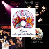 Queen remasterizados Queen, Queen II, Sheer Heart Attack, A Night At The Opera y A Day At The Races