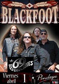 Blackfoot en Madrid, Valencia y Bilbao en abril