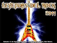 Barón Rojo cierra el cartel de bandas estatales en Leyendas del Rock 2011