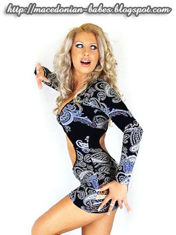 Jasmina Mukaetova - one of the sexiest Macedonian girls