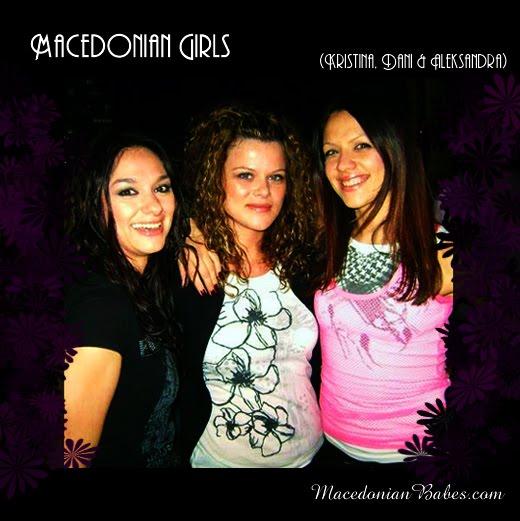 Macedonian Girls (Makedonski Devojki): Kristina Arnaudova, Dani (Daniela Dimitrovska) and Aleksandra Pileva