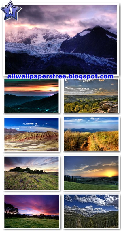 40 Beautiful Mountains and Valleys Widescreen Wallpapers 1920 X 1200