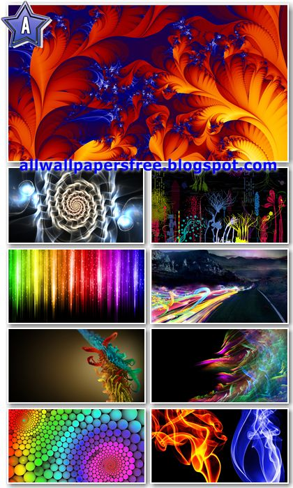 30 Colorful Abstract Wallpapers Full HD 1080p