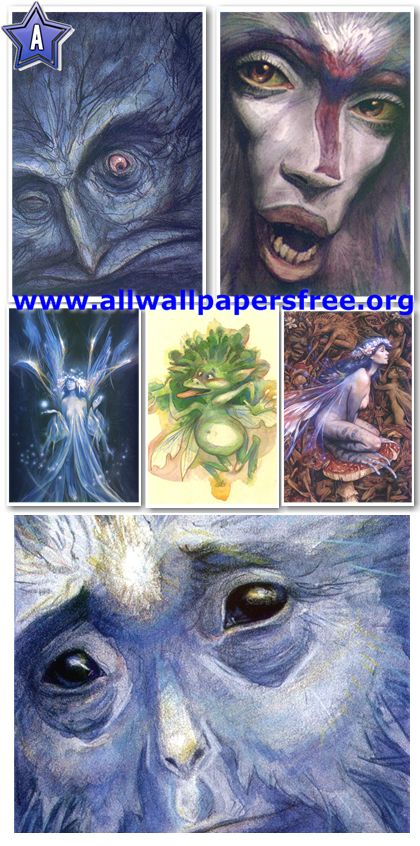 130 Amazing Fantasy Artworks by Brian Froud [LR Up to 1700 Px]