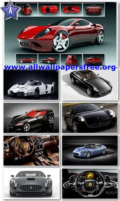 180 Amazing Ferrari PSP Wallpapers 480 X 272