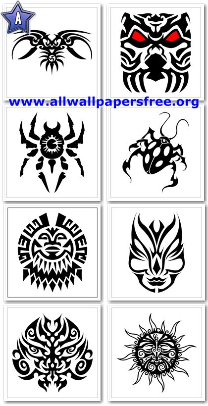 900 Amazing Tribal Tattoo Designs 700 X 700