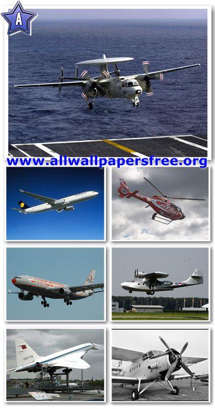100 Amazing Aircraft Wallpapers 1024 X 768 [Set 5]