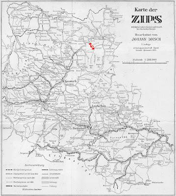 Mapy Uhorska A Slovenska Mapa Spi A Z Roku 1939 Karte