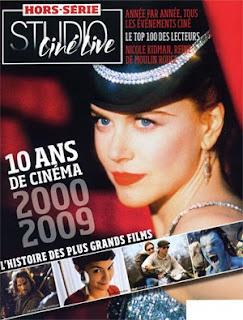 Couverture Studio Ciné Live Hors-série