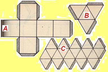 Plantillas Para Construir Cuerpos Geom  Tricos