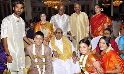 Superstar Rajinikanth's younger daughter Soundarya has got engaged to Ashwin Ramkumar