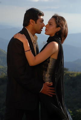 Jayam Ravi, Kangana Ranaut and Lakshmi Rai in kollywood movie Dhaam Dhoom - Movie Gallery