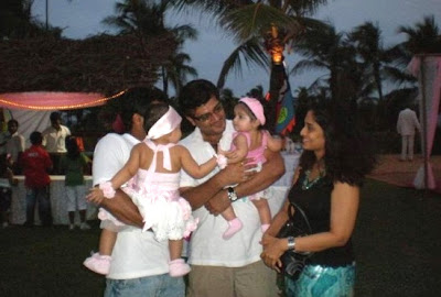 Diya's first birthday, daughter of Surya and Jyotika