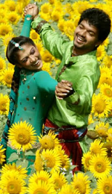 Prabhu Deva's Vijay and Nayanthara in Villu Shooting Stills