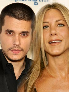 John Mayer was with a very special friend on his 31st birthday-Jennifer Aniston