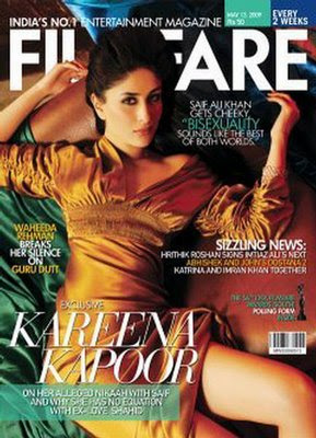 Hot and Sexy Bollywood Actress Kareena Kapoor - Filmfare Magazine (May 2009)