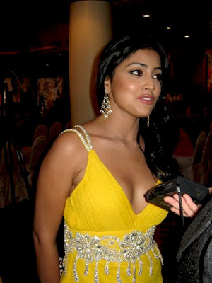 Kollywood's top heroine Shriya Saran went for a 'darshan' to Tirupati temple