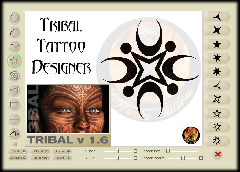 Tribal tattoo designer 1.6 portable y8