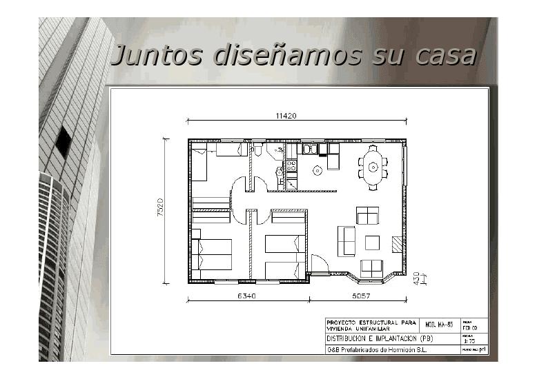 Planos de casas prefabricadas hormigon pictures - Planos casas modulares ...