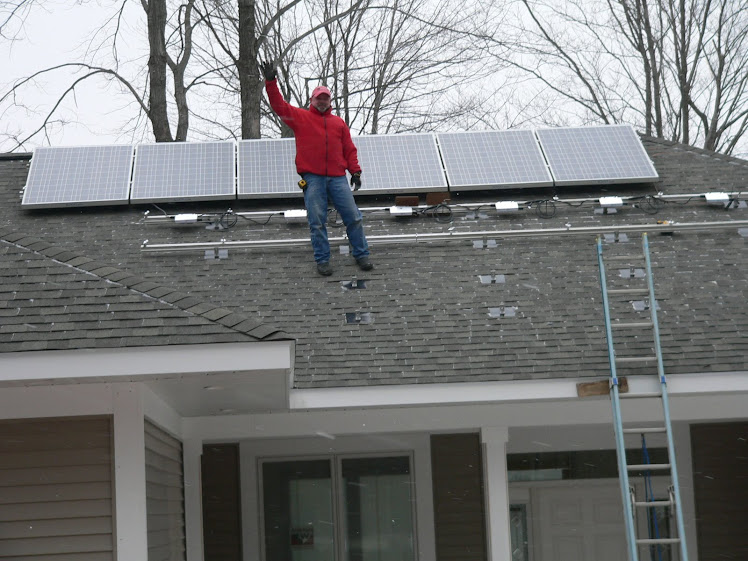 Jan 1 Installation of Solar Panels