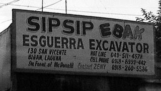 Funny Signs in the Philippines! Sipsip-ebak