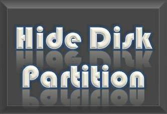 Hide Disk Partition, Computer, Hard Disk